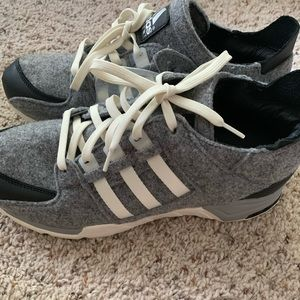 Rare Mens Adidas Torsion Technology Wool Sneakers